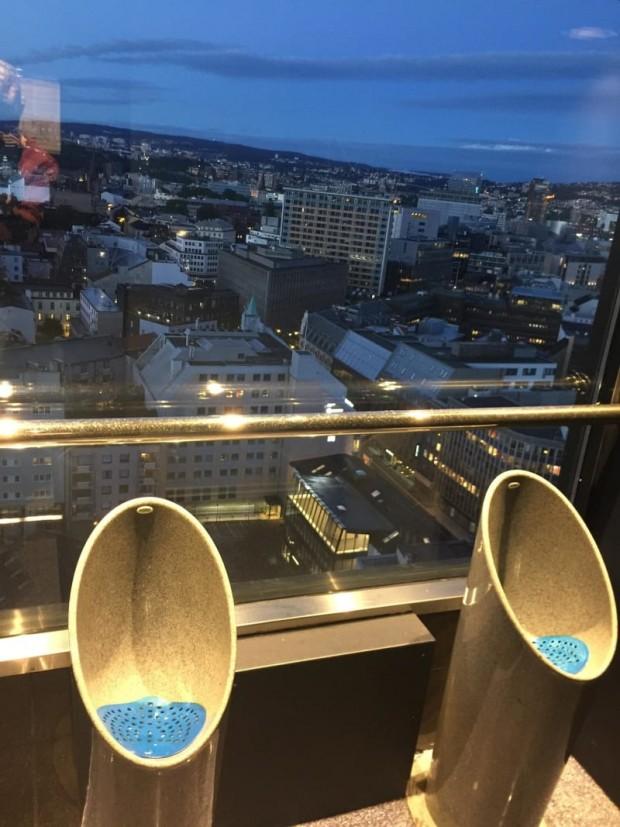 7 Kimi tuvaletlerde böyle bir manzarayla karşılaşmak mümkün...
