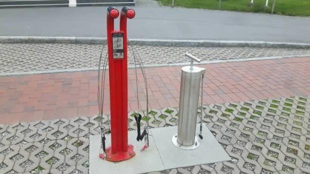 15 Bir motor veya bisiklet kullanıyorsanız, bu istasyonda aracınızı ücretsiz onarabilirsiniz;
