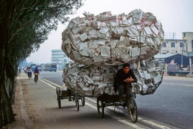 2. Çin'de sıradan bir görüntü: