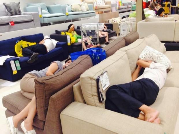 6. IKEA'da normal bir gün, Pekin