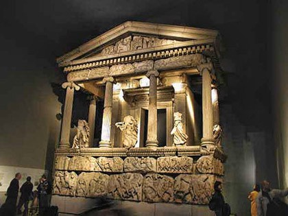 Nereidler ANITI (Ksanthos) - British müzesi