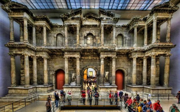 4. Milet Güney Agora Kuzey Kapısı - Berlin müzesi