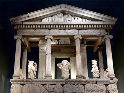 8. Nereidler ANITI (Ksanthos) - British müzesi