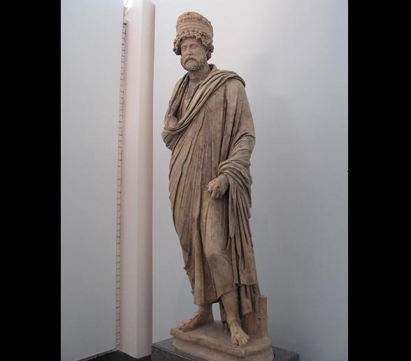 9. Aphrodisias-İhtiyar Balıkçı Heykeli - Berlin müzesi