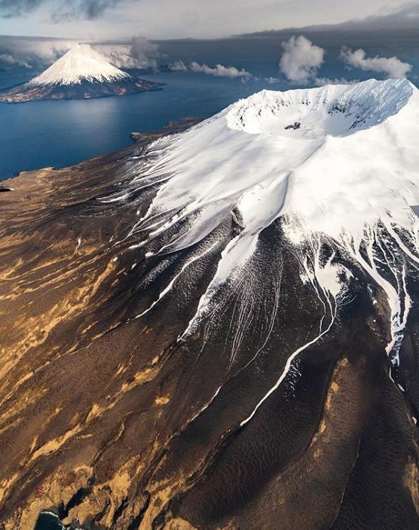 4. Aleut Adaları, Alaska, ABD
