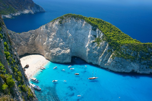 7. Zakintos Adası, Yunanistan