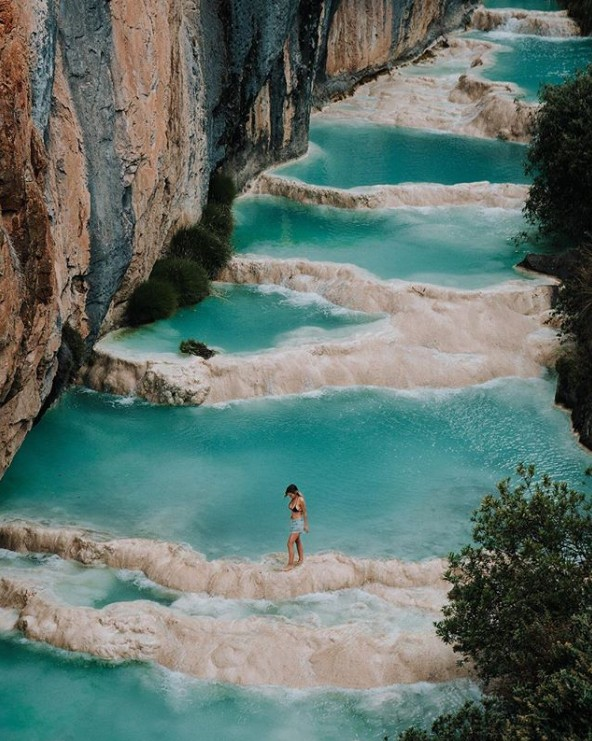 10. Millpu Doğal Havuzları, Ayacucho, Peru