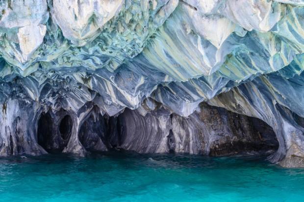 11. General Carrera Gölü'nün Mermer Mağaraları, Şili