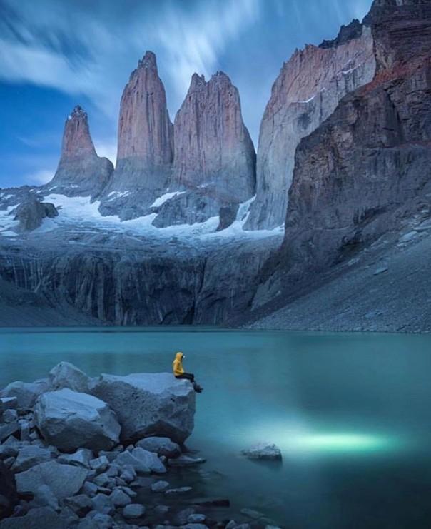 13. Torres del Paine Ulusal Parkı, Patagonya, Şili
