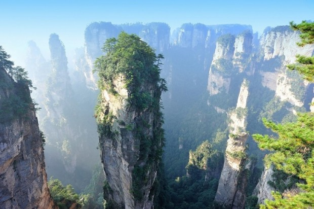 15. Zhangjiajie Ulusal Orman Parkı, Çin