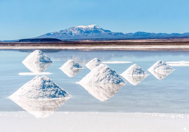 18. Salar de Uyuni Tuz Gölü, Bolivya