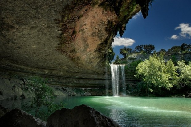 19. Hamilton Pool Preserve, Teksas, ABD