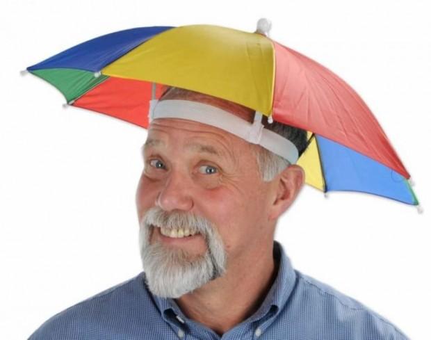 7. Başınıza güneş geçsin istemiyorsanız, bu baş şemsiyeleri tam size göre! :)