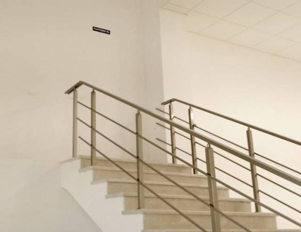 Varacak yeri olmayan merdiven.