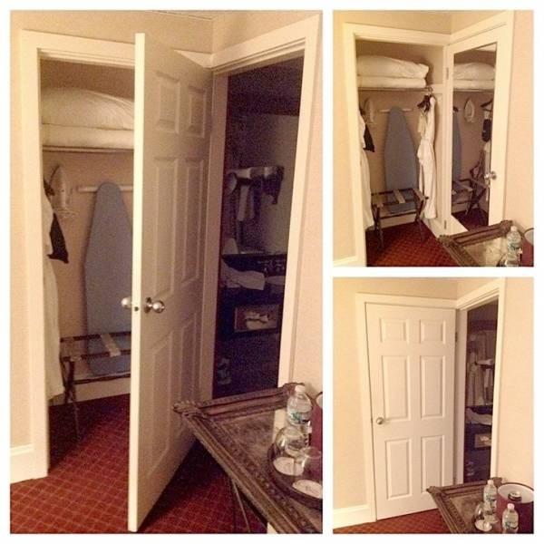 İki odaya bir kapı, tasarruflu otel.
