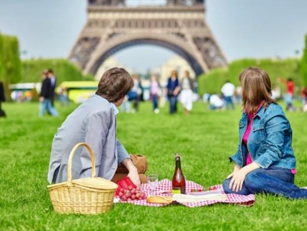 5. Aşkın şehri Paris'in sembolü Eiffel