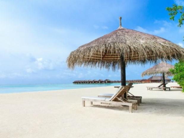 13. Müthiş manzaralı Maldivler'e gitmek istiyorsunuz...