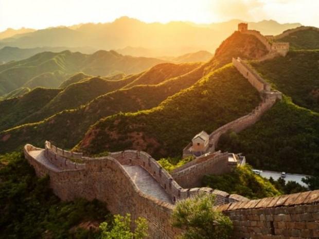 2. Çin Seddi hayallerde hep böyle