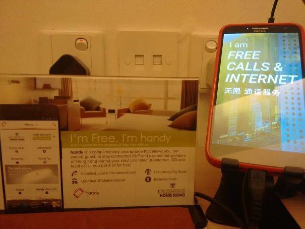 32. Tatil boyunca akıllı telefonunuz otelden.