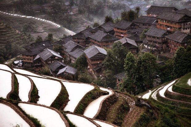 10. Saklı köy - Jiuzhaigou, Çin