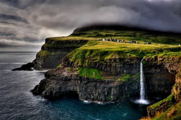 24. Gasadalur, Faroe Adaları, Danimarka