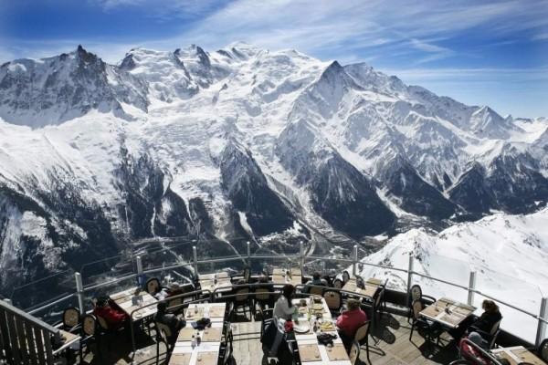 1. Restaurant Le Panoramic, Chamonix, Fransa