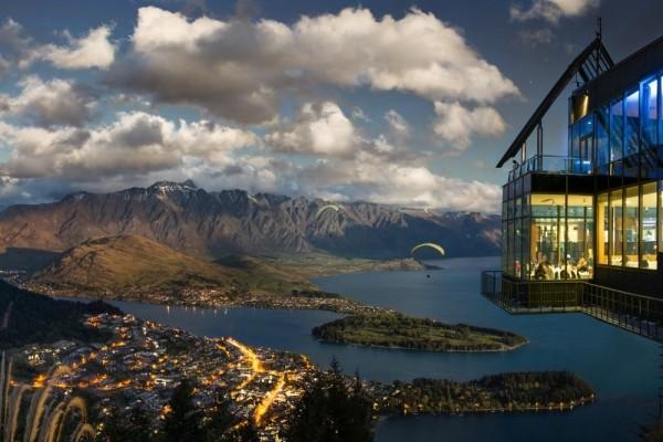 8. Skyline Restaurant, Queenstown, Yeni Zelanda