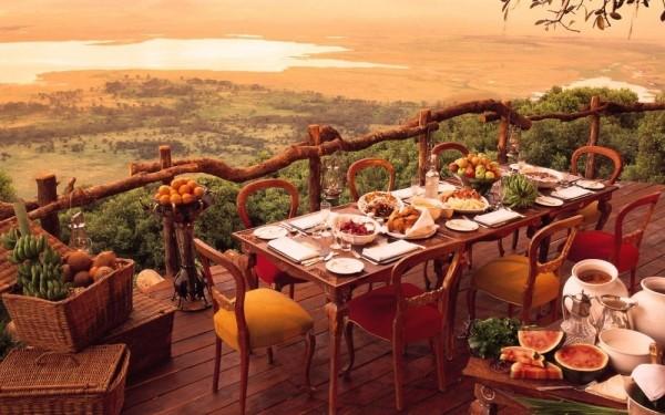 10. Ngorongoro Crater Lodge, Ngorongoro, Tanzanya