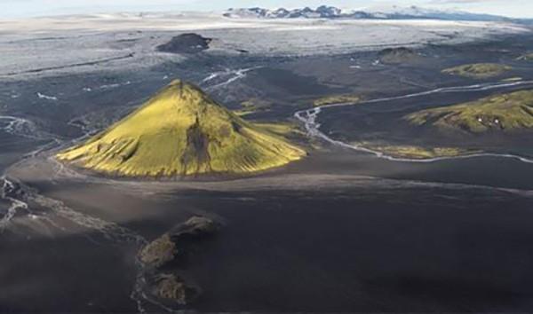 3. Maelifell, İzlanda