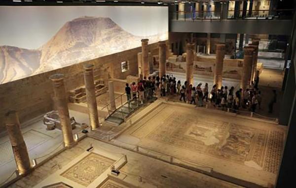 10. Gaziantep Zeugma Mozaik Müzesi (Gaziantep) – 2014 'Turistlerin Tercihi' ödülü