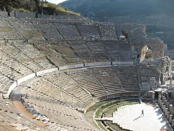 21. Efes Antik Kenti Tiyatrosu (Selçuk-İzmir) – Mükemmellik Sertifikası