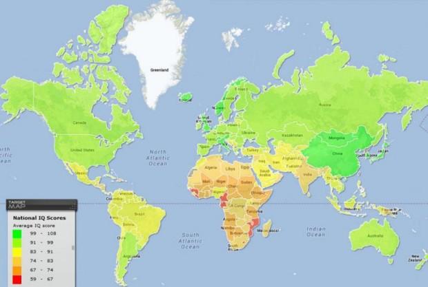 Ülkere Göre Ortalama IQ Oranları