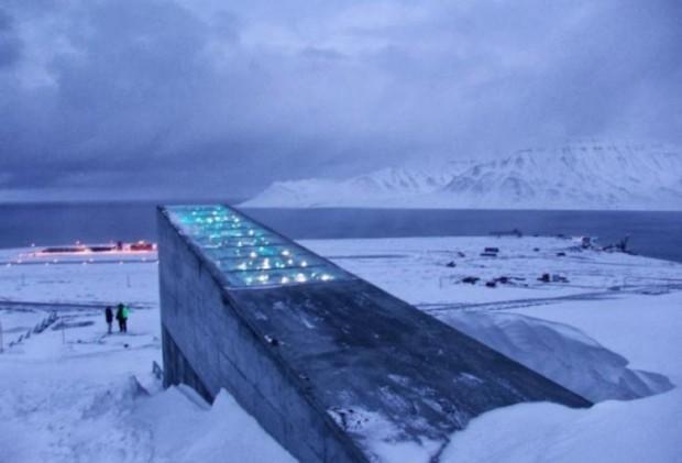 3. Svalbard Global Seed Vault, Norveç