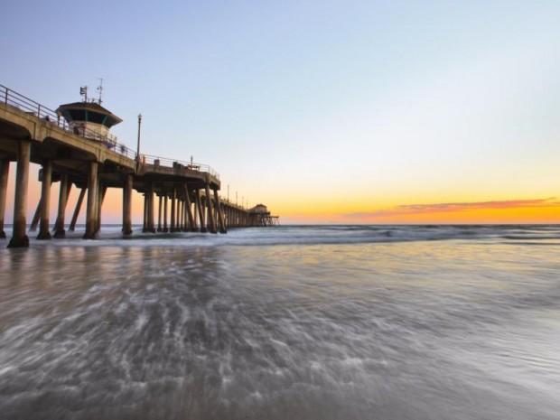 3. Huntington Plajı, Kaliforniya