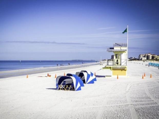 5. Clearwater Plajı, Florida