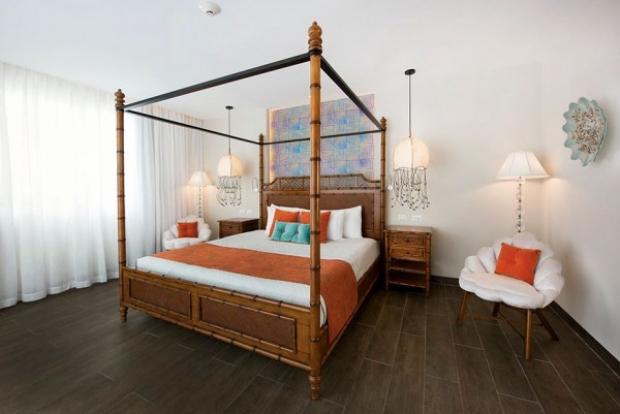 Dominik Cumhuriyeti'nde yer alan bu otel, açıldığı günden beri turist akınına uğruyor.