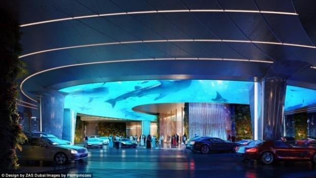 Lüks tatillerin adresi olan Dubai, her geçen gün farklı bir projeyle karşımıza çıkıyor.