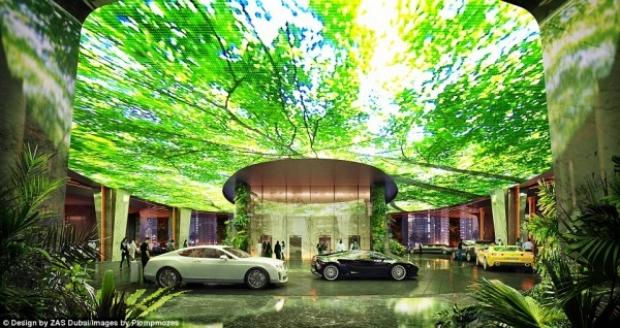 Yapımında 230 milyon Pound harcanacak olan yapıda, lüks bir otel ve rezidanslar bulunacak.