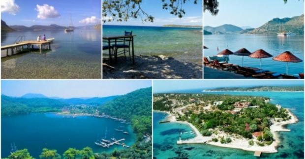Arabanıza atlayıp Ege ve Akdeniz'in doğayla iç içe ada, vadi ve koylarını keşfetmeye ne dersiniz?