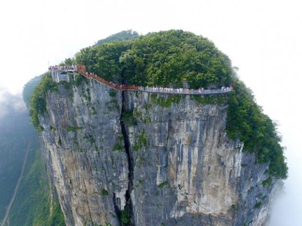 Hem toplumsal yapısı hem coğrafi konumu hem de doğal güzellikleriyle dünyanın en sıra dışı ülkelerinden biri olan Çin'den, sıra dışı bir haber daha!