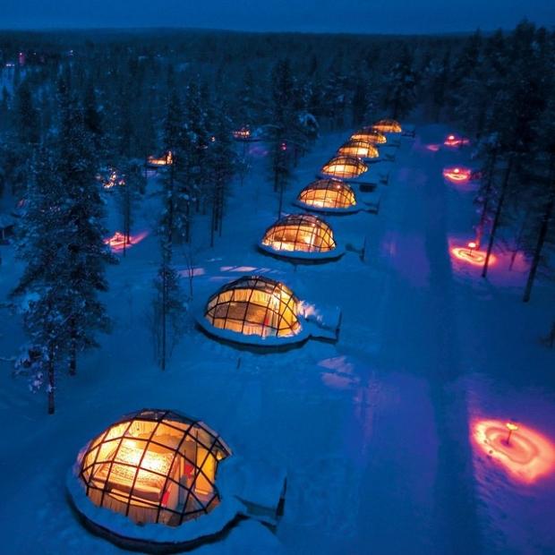 1. Finlandiya'daki bu