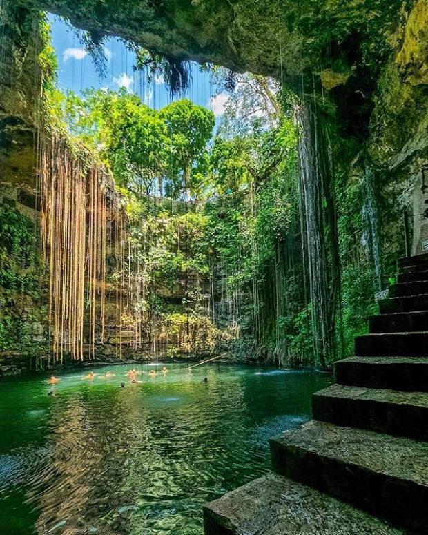 5. Cenote Ik-Kil, Mexico
