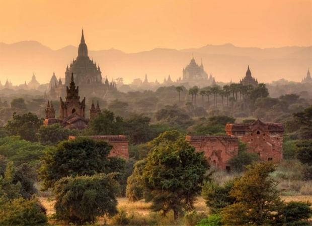 13. Bagan, Myanmar