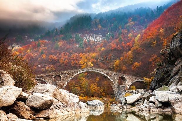 1. Şeytanın Köprüsü, Rhodope, Dağları Bulgaristan