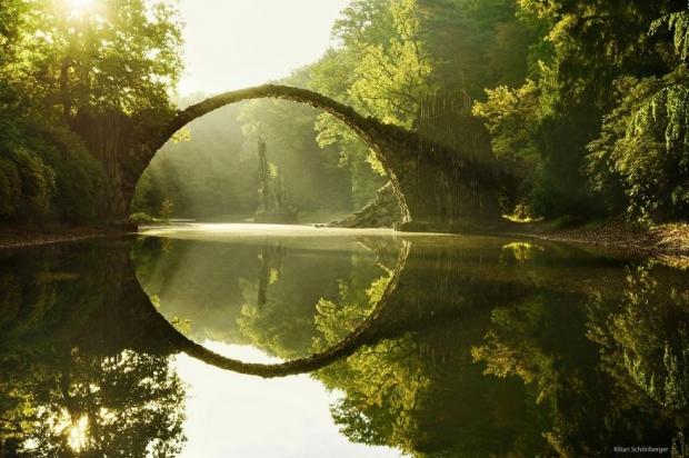 7. Rakotz Brücke, Almanya