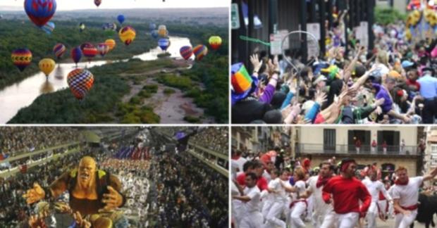 İşte dünyanın en eğlenceli 10 festivali!