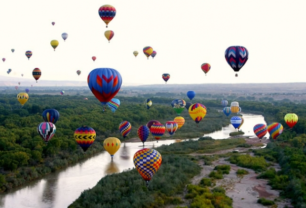 10 – Albuquerque Uluslararası Balon Festivali!