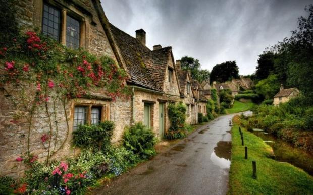 1. Bibury, İngiltere