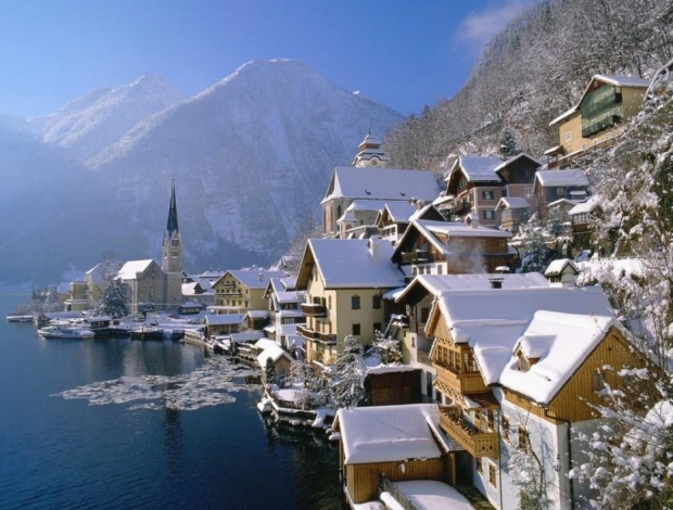 6. Hallstatt, Avusturya