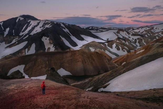 12. Landmannalaugar, İzlanda